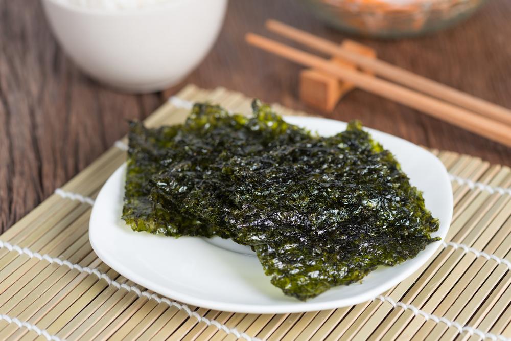 Hojas de alga Nori