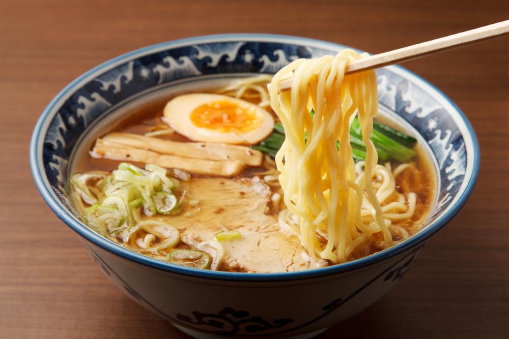 Los fideos fríos en la cocina japonesa